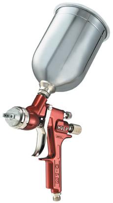 Binks m1 g hvlp gravity feed spraygun for Best automotive paint gun