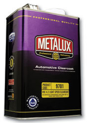 Metalux 9701 Lightspeed Clearcoat Gallon