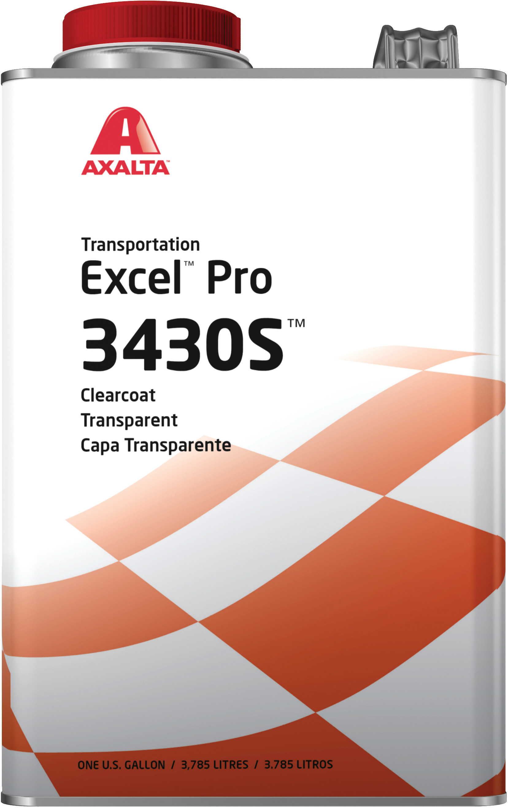 Axalta Excel Pro Clearcoat 3430s Gallon