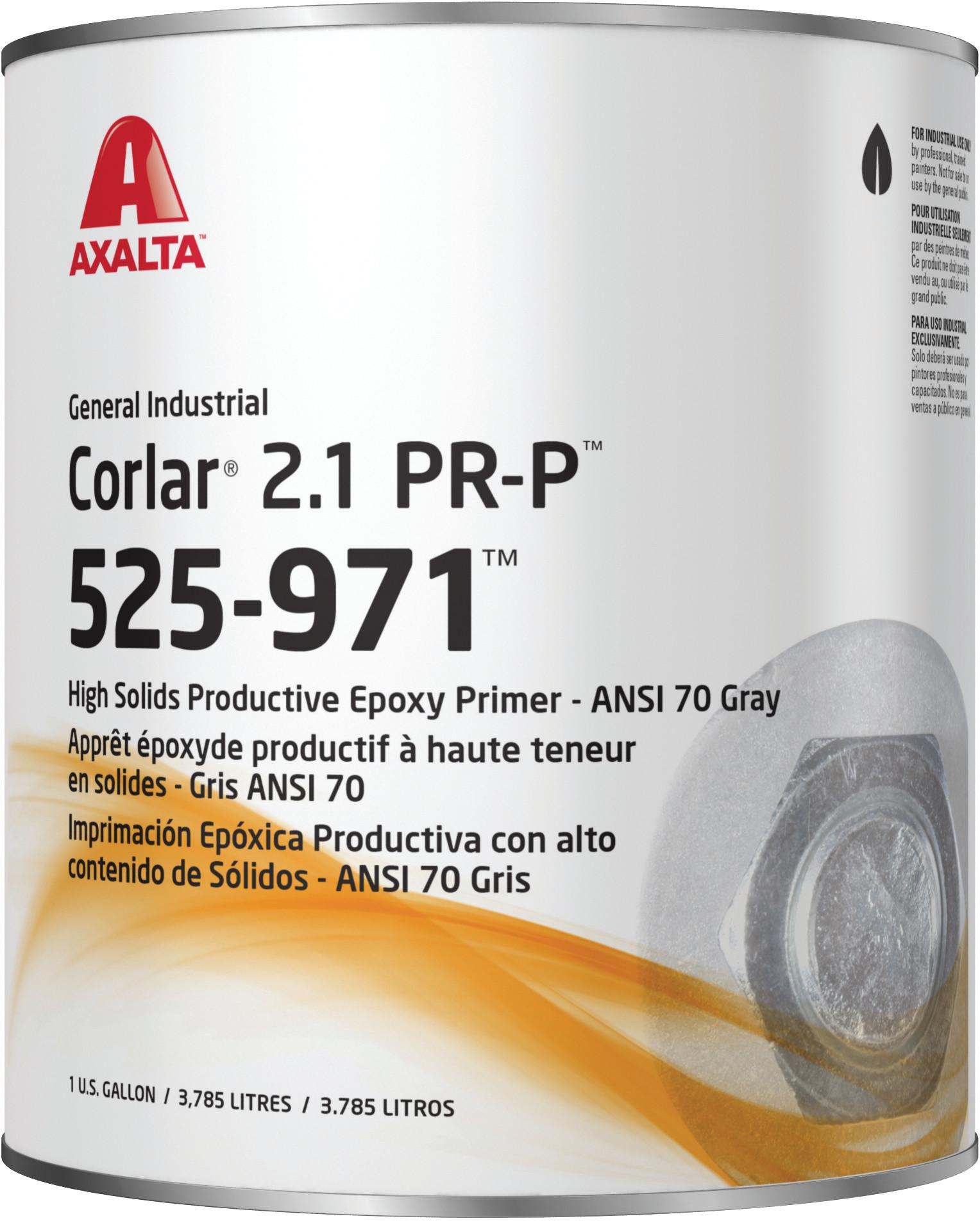 Auto Paint Supply >> Axalta Corlar 2.1 PR-P Epoxy Primer ANSI 70 Gray