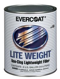 Evercoat Lite Weight Non Clog Liteweight Filler Gallon