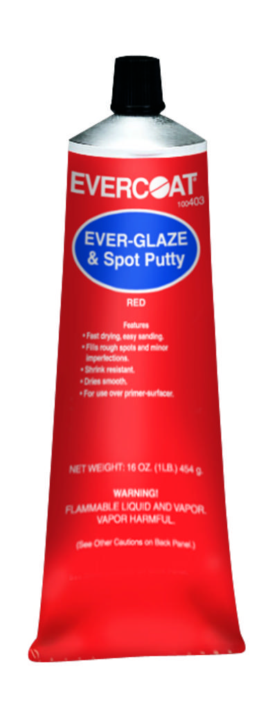 Evercoat 403 Ever Glaze And Spot Putty Red 16oz