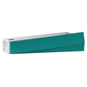 3m 02220 green corps production resin file sheet 80 grade