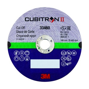 3m Cubitron Ii Cut Off Wheel 4in 33460