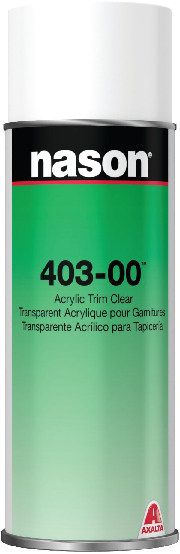 Hose Spray Nozzle >> Axalta Nason 403-00 Acrylic Trim Clear