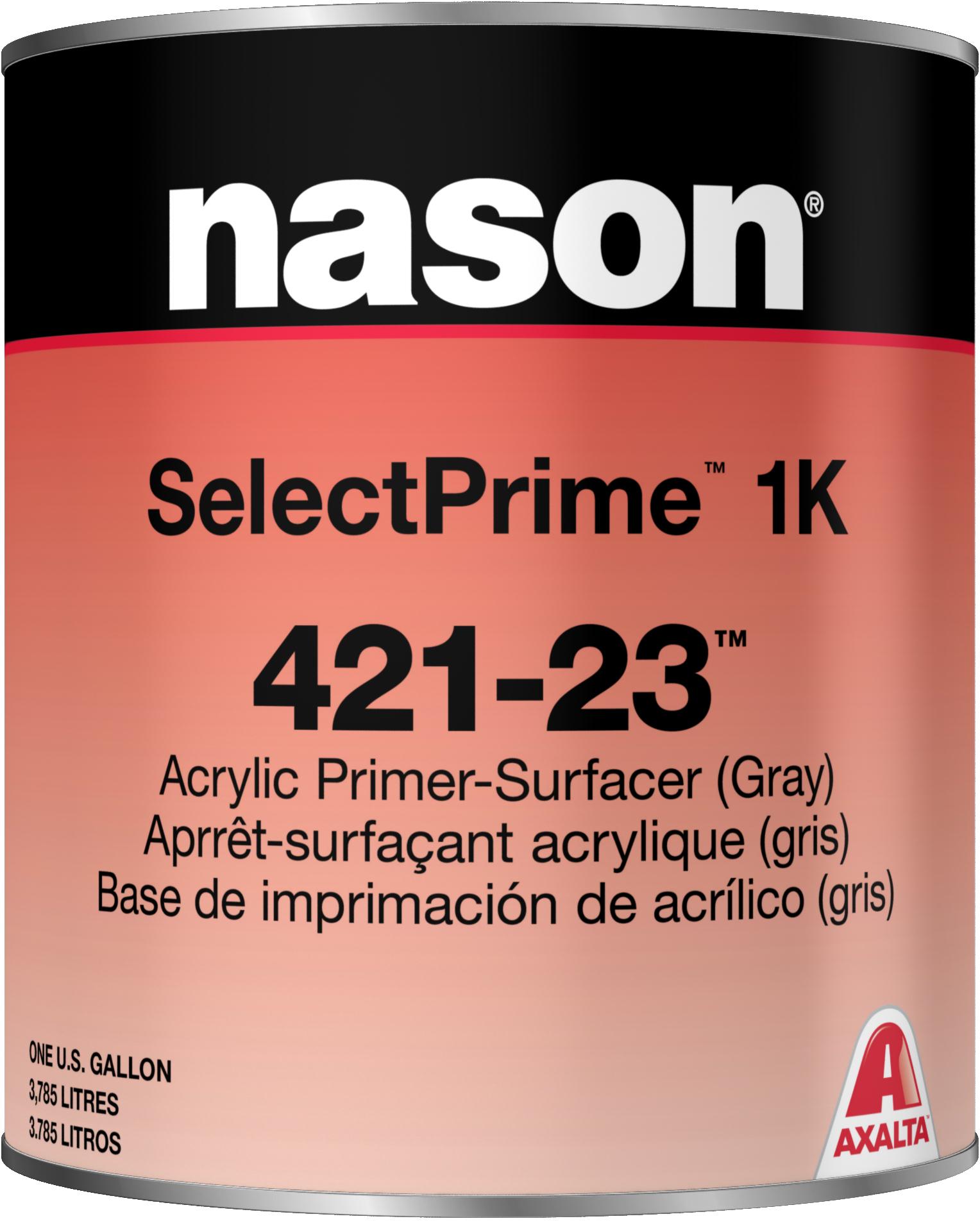Axalta Nason Selectprime 421 23 Gray Acrylic Primer