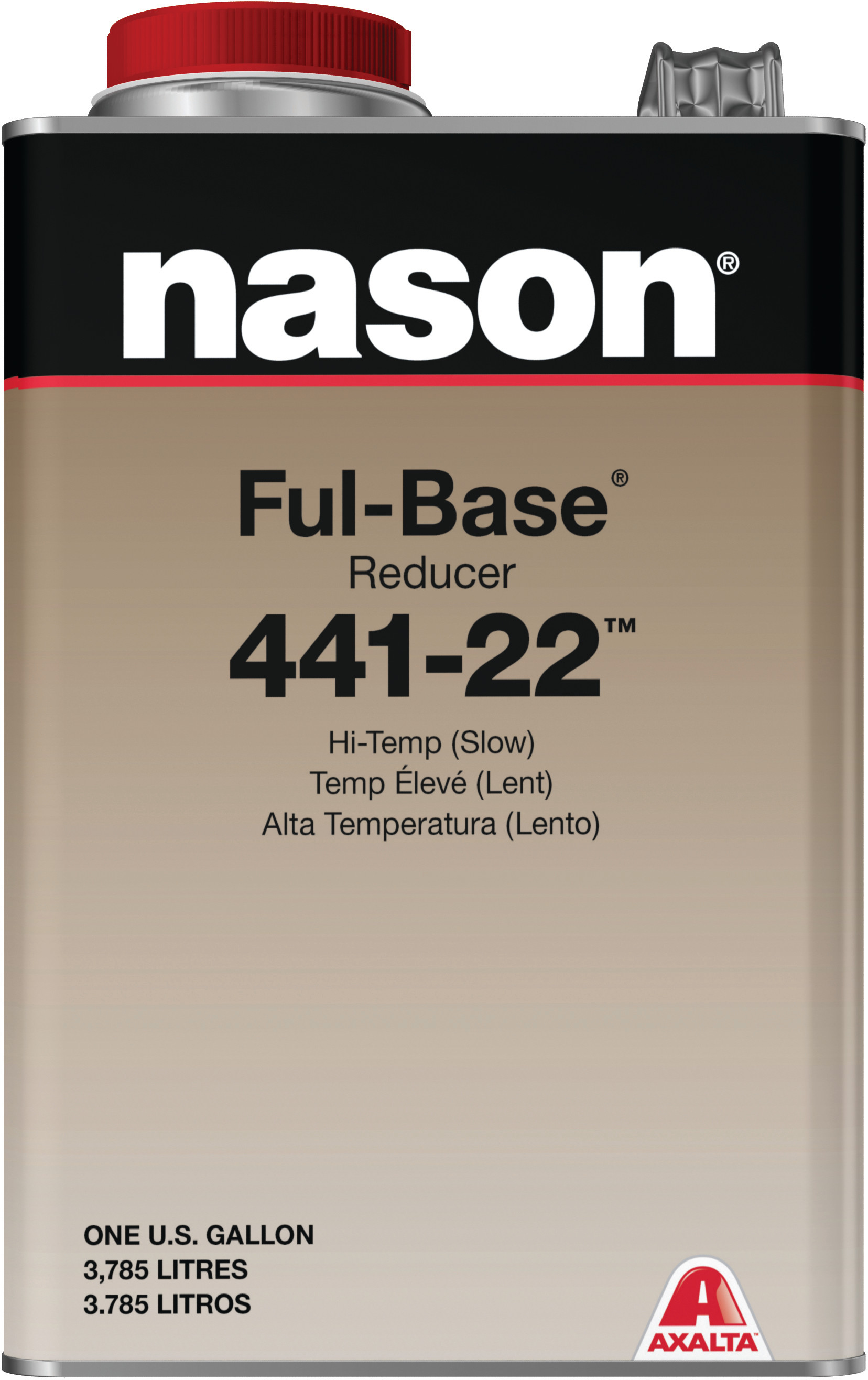 Hose Spray Nozzle >> Axalta Nason Ful-Base Reducer 441-22 Slow Gallon