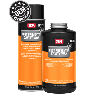 Sem Rust Preventer Cavity Wax Aerosol 39573