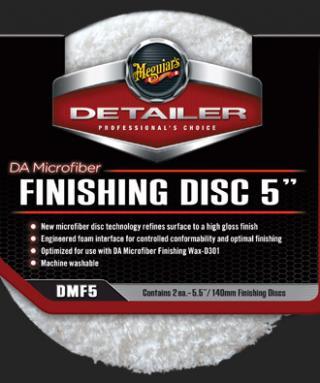 Pack of 2 Meguiars DMF5 5 DA Microfiber Finishing Disc,