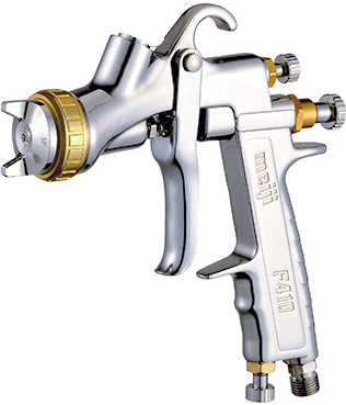 MEI-gravity-feed-hvlp-spray-gun-f410-uncupped